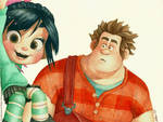 Wreck-it Ralph - Ralph and Vanellope