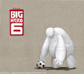 Big Hero 6 - Baymax! by Poppysleaf