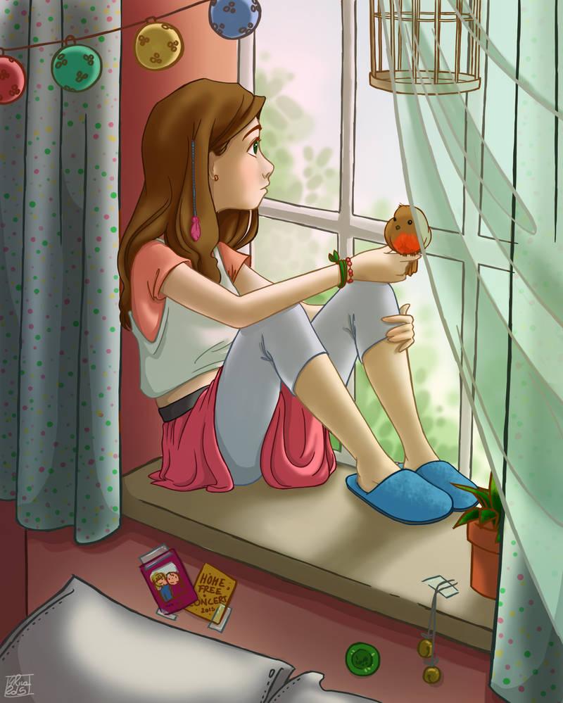 Teenager by Poppysleaf
