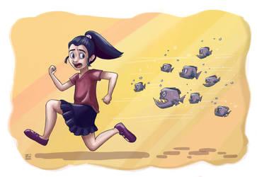 Piranha by Poppysleaf
