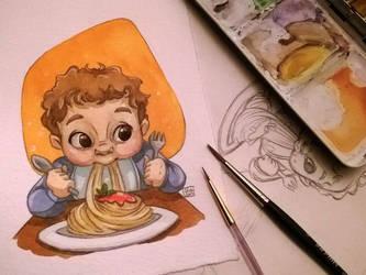 Pasta by Poppysleaf