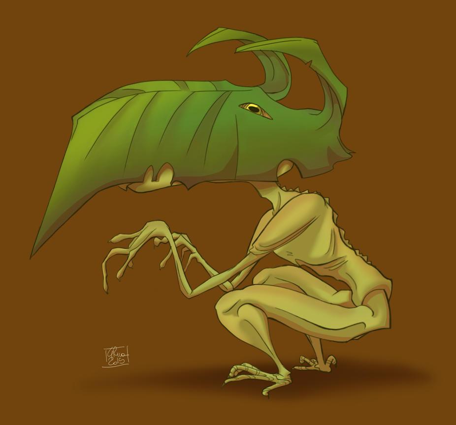 Creature by Poppysleaf