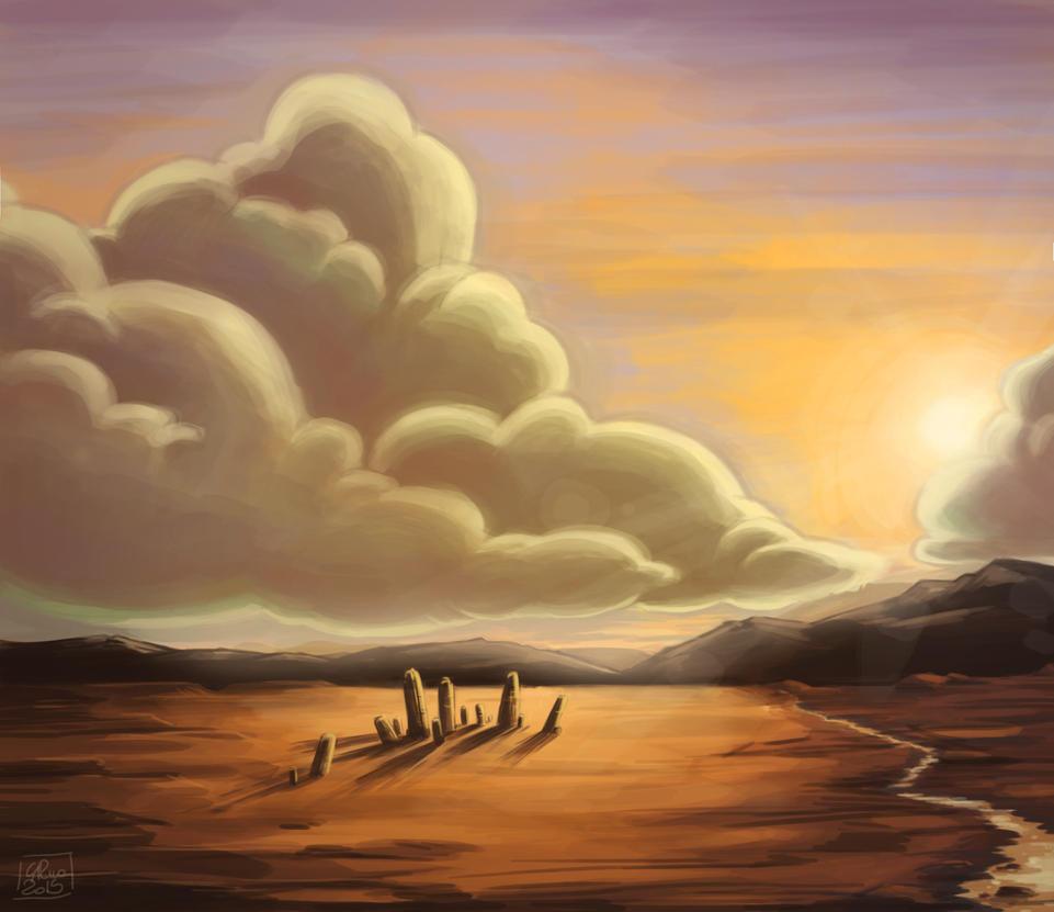 Sunset by Poppysleaf