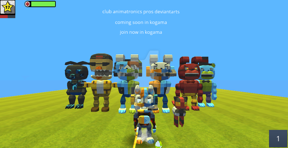 club animatronics deviantarts Coming Soon Join Now by s1carlosreyes