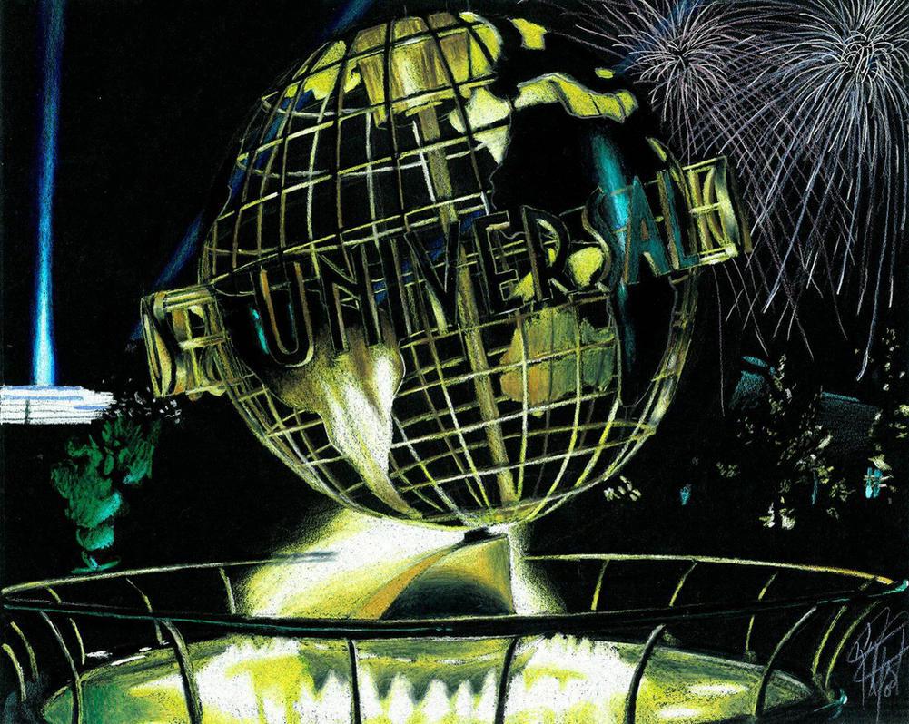 Universal Studios Sculpture by KStewartX4
