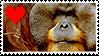 Stamp- Orangutan 2 by IsabellaPrice