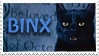 Binx Stamp 1 by Cavity-Sam