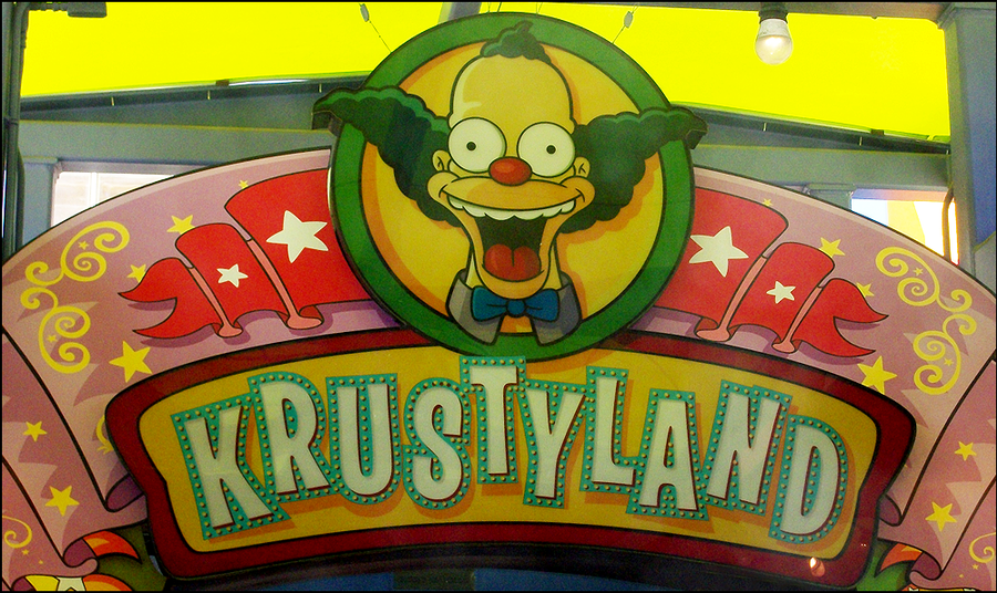 Krustyland Sign by IsabellaPrice