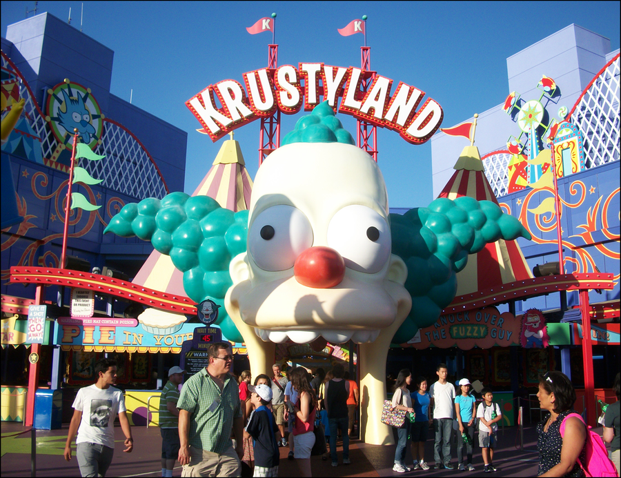 Krustyland by IsabellaPrice