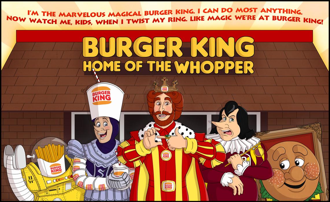 Burger King Kingdom By Cavity Sam