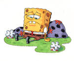 Sad Sponge