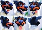 [SOLD] Halloween Werewolf Head