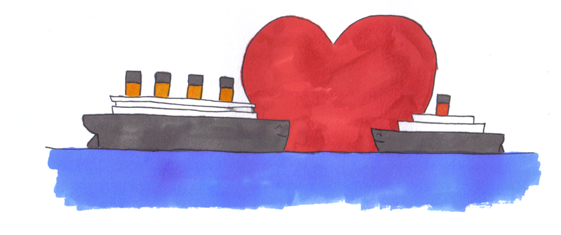 Titanic x Carpathia equals OTP by avarenity