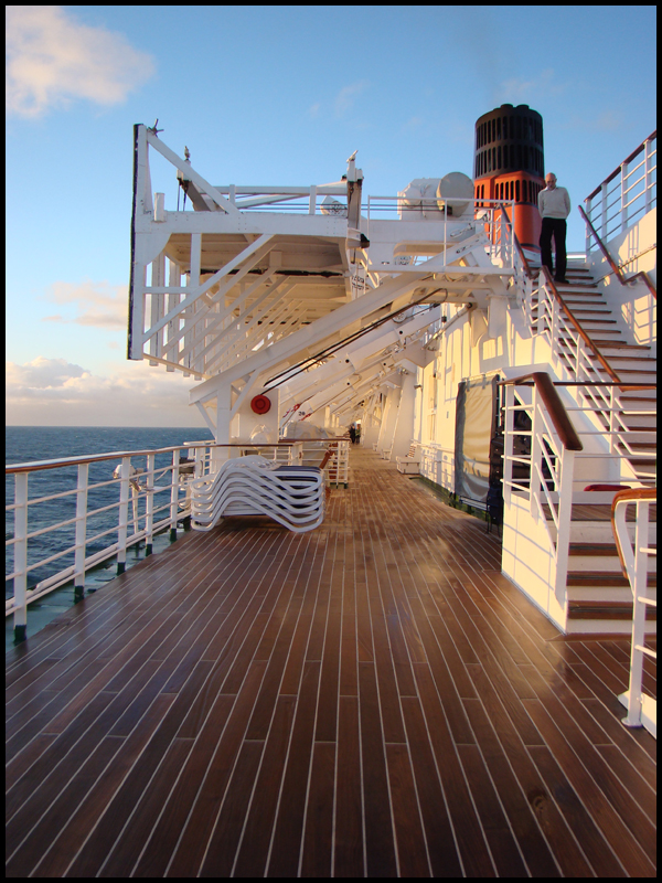 One Morning on the QE2 by avarenity