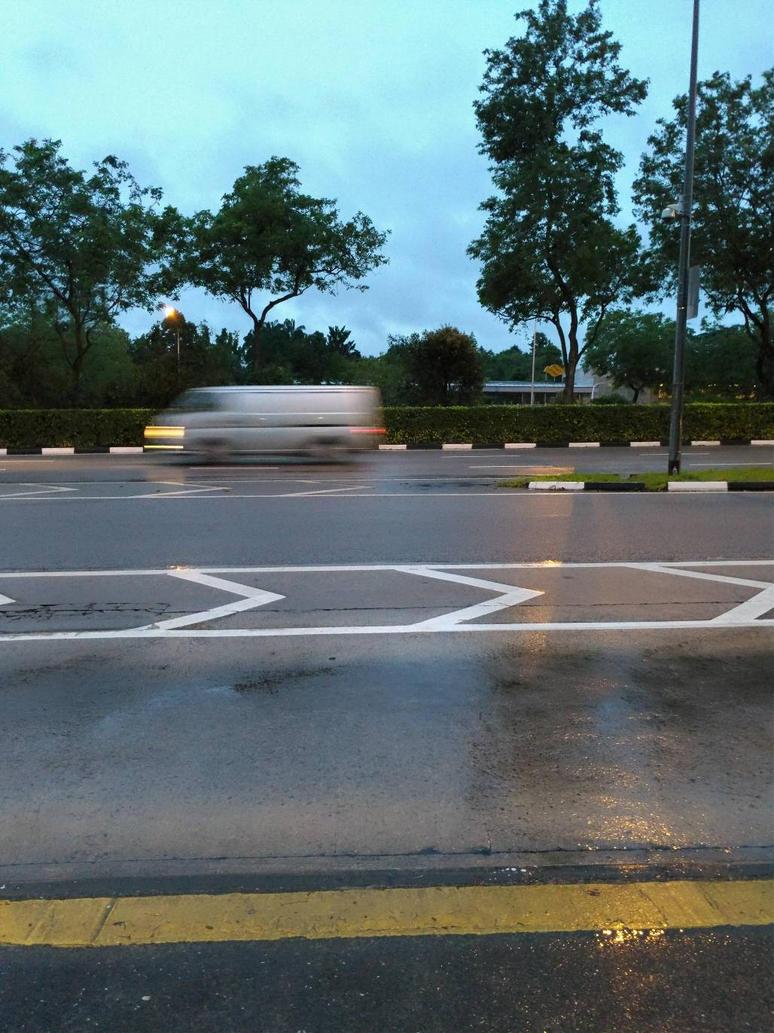 wet morning by avarenity