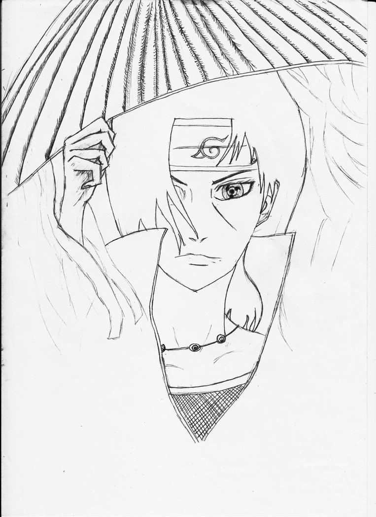 itachi quick sketch by keyser73