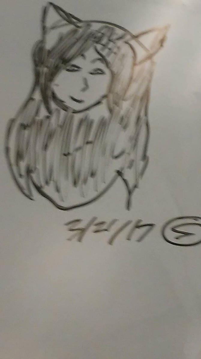 whiteboard doodle by RainingSkitles