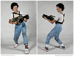 Costume: Ellen Ripley from Aliens