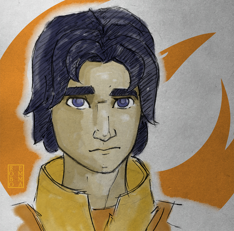 Ezra Bridger by mandomemory