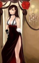 Tifa Cocktail Dress Commission by DiamondReflection