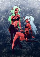 Demon Sisters by Arilysal
