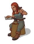 Dwarf tinsmith