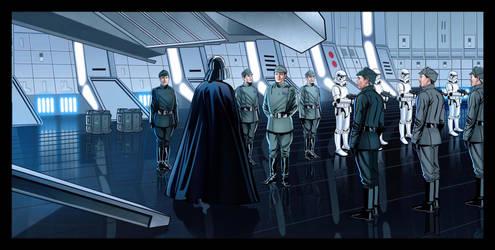 Darth Vader's Arrival