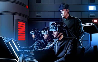 Death Star Control Coloured