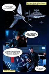 Star Wars ROTJ Fan Comic Page