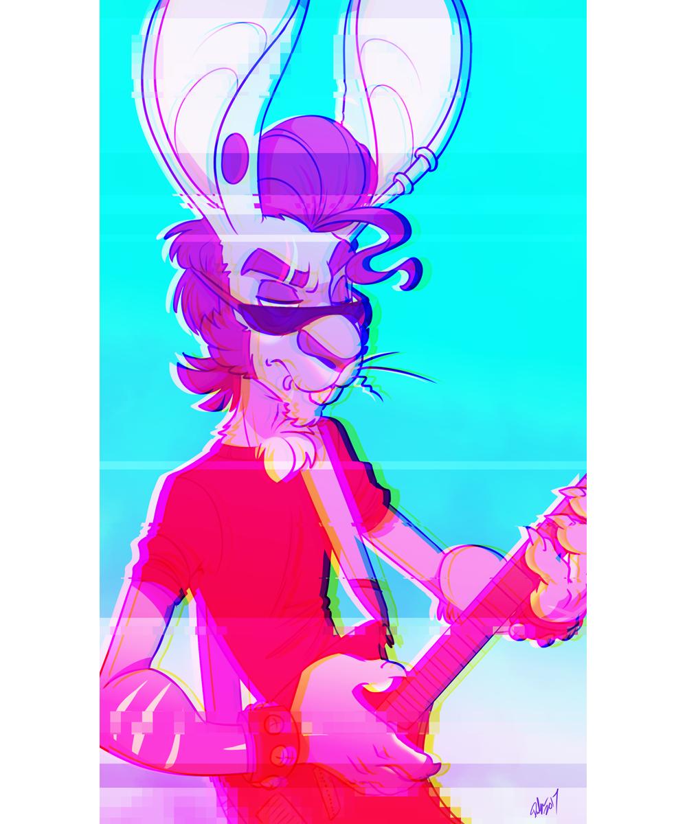 Trash Rabbit by delSHARK