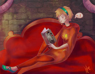 Trashy Romance Novel by kera-moondust