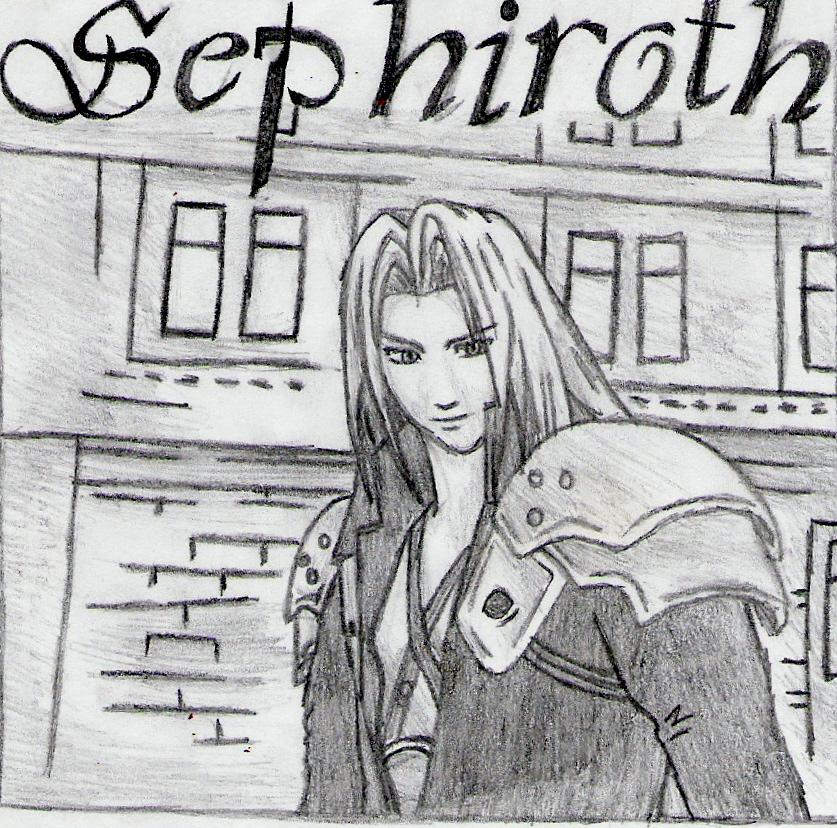 SEPHIROTH by hikaruko