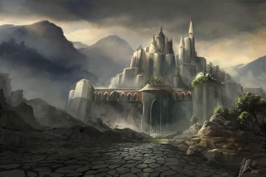 Dark Castle by jbrown67 Dark Fantasy Castle