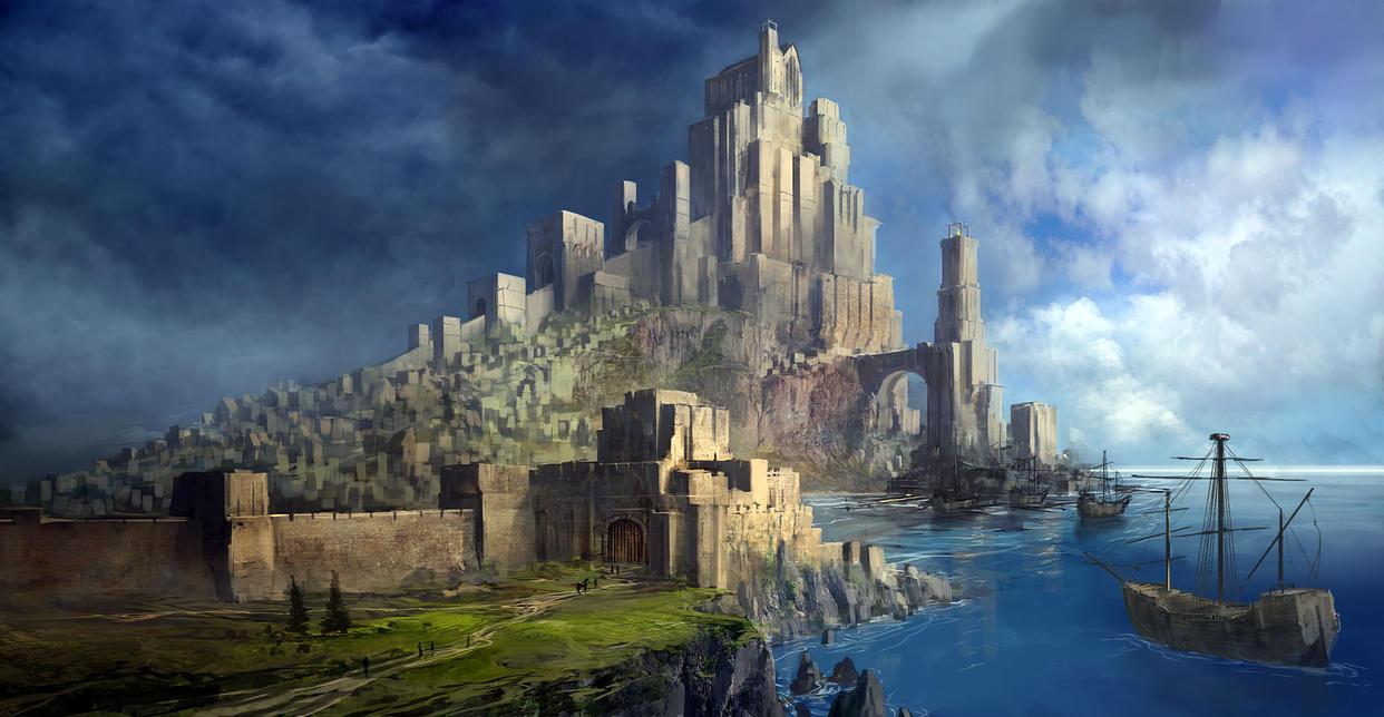 Fantasy Castle by jbrown67