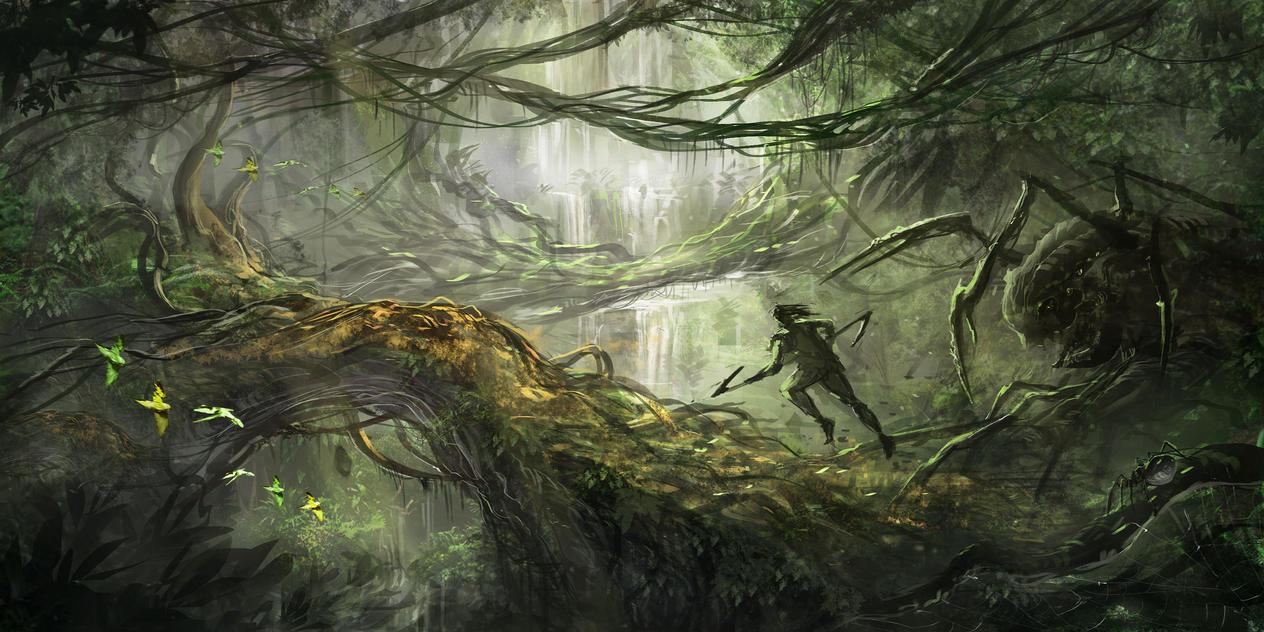 Jungle Run by jbrown67