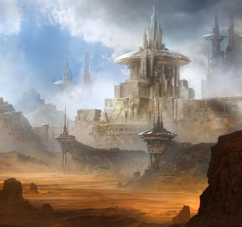 Desert Ruins by jbrown67