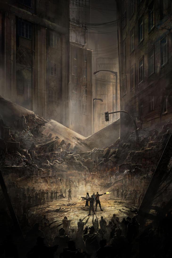 Zombie Ambush by jbrown67
