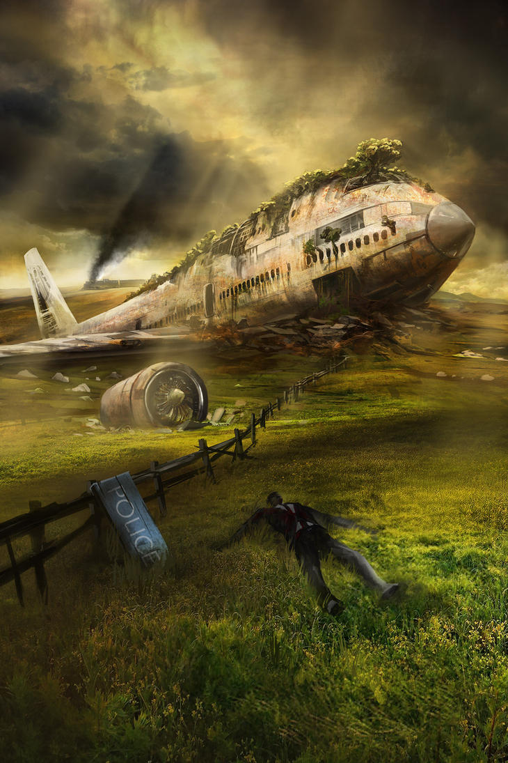 20 Year Plane Wreck by jbrown67