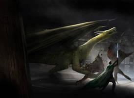 Hell Beast Ambush by jbrown67