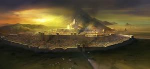 Fantasy City by jbrown67