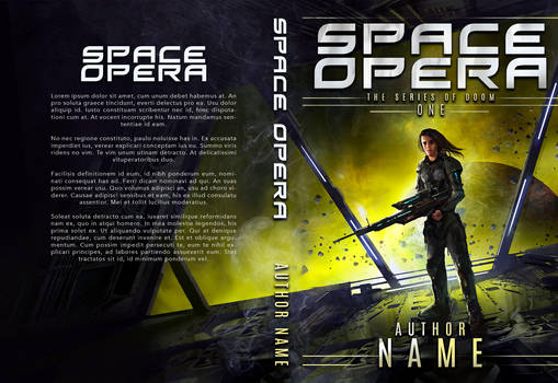 Space Opera Book Cover