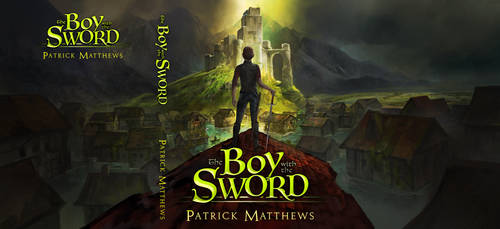 YA Fantasy Book Cover Illustration