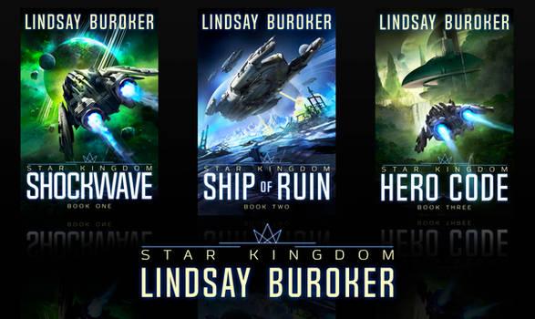 Sci-fi Space Opera Book Covers