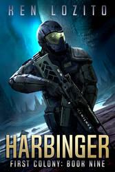 Sci-fi Book Cover Illustration