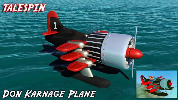 Don Karnage Plane by Shamar-Benoit