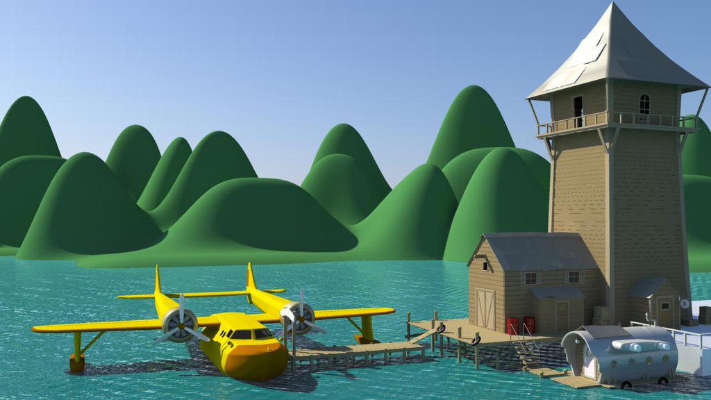 Higher for Hire and Sea Duck by Shamar-Benoit