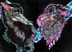 Gods and monsters (redraw) by xTheChildOfWinterx