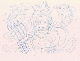 Overwatch - Hanzo Shimada by The-Sketch-Fox