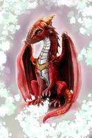 red dragon by shenmifangke