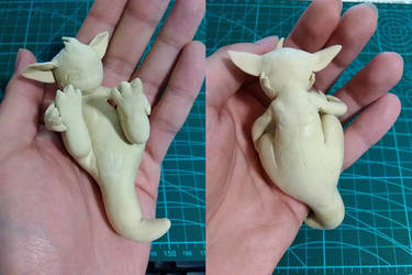 clay dragon by shenmifangke